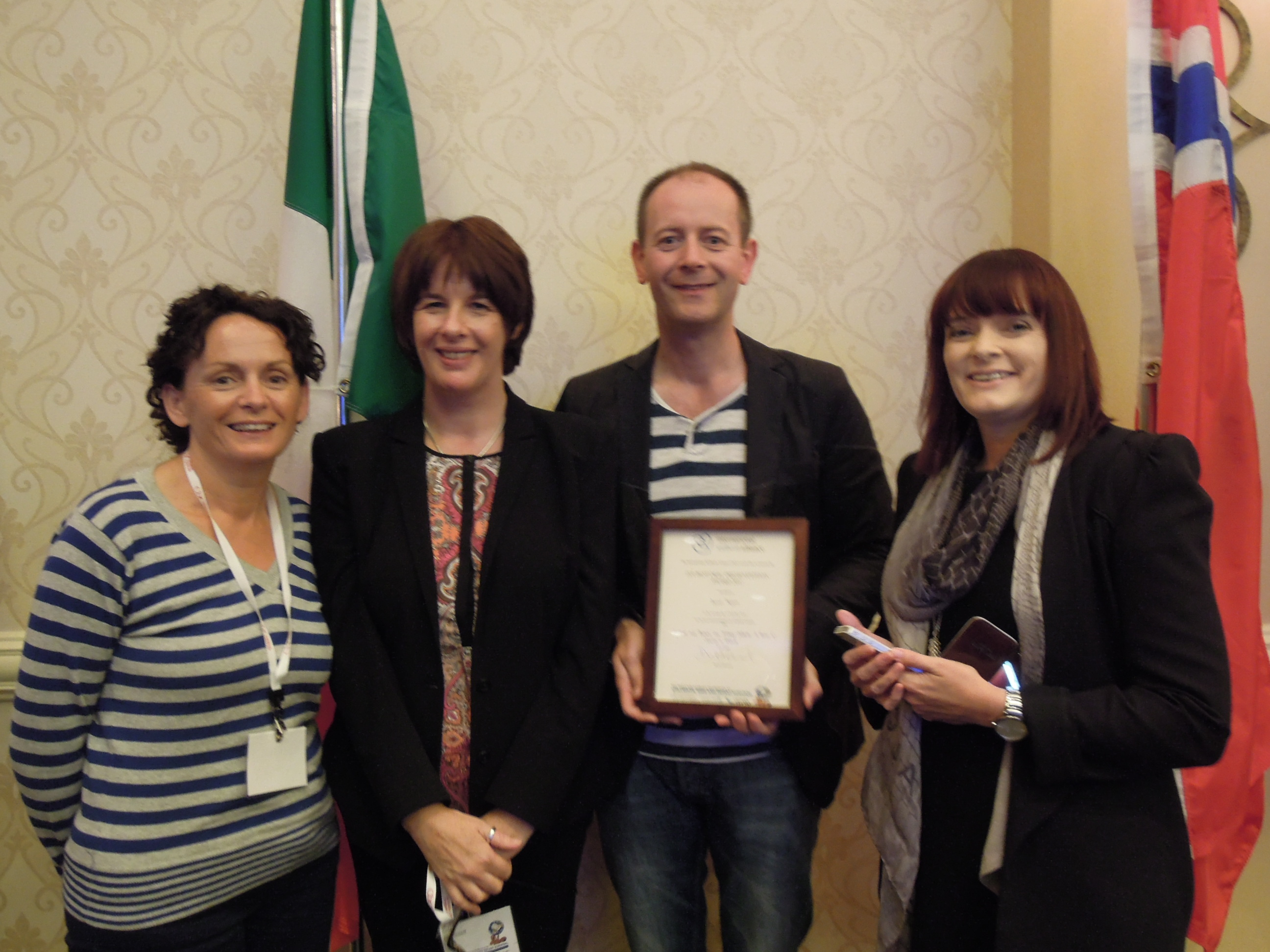 Cork Hospital Chaplain Receives Award At International Conference