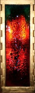 The Aumbry of Healing by Cork glass artist, Eoin Turner
