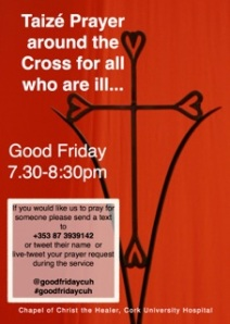Good Friday Taize Prayer around the Cross 2013