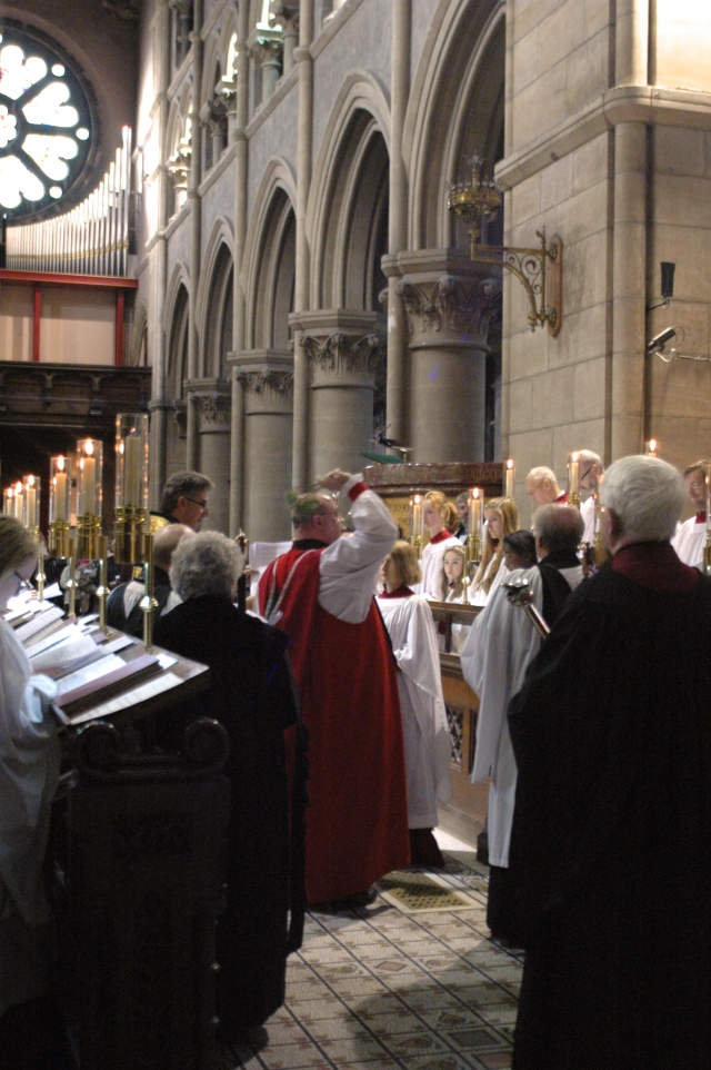On Sunday, 20th October - the Bishop rededicated the restored organ at St Fin Barre's Cathedral, Cork