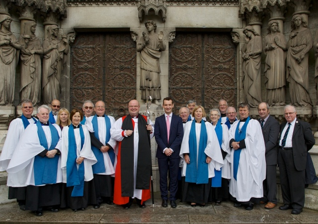 CCR Diocesan Readers with the Bishop and Canon Mark Russell on Saturday, 19th October (Photo:  Neil Danton)