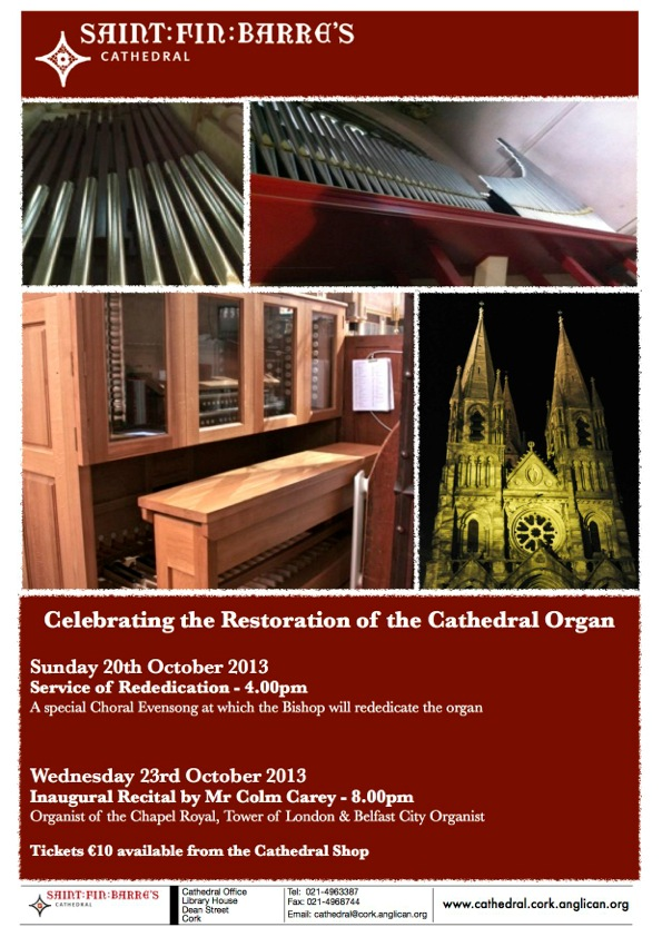 Organ poster - reded and con 2013
