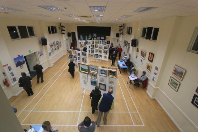 Art Sale and Exhibition ~ Canon Packham Hall, Douglas, Co Cork