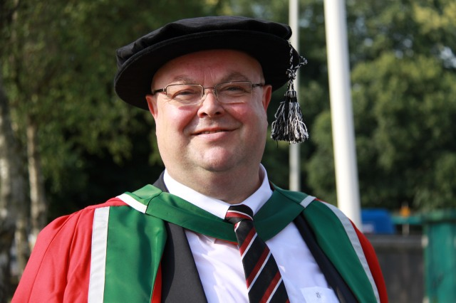 The Right Reverend Dr Paul Colton, Bishop of Cork, Cloyne and Ross, who has been appointed by Cardiff University as an Honorary Research Fellow at Cardiff Law School.