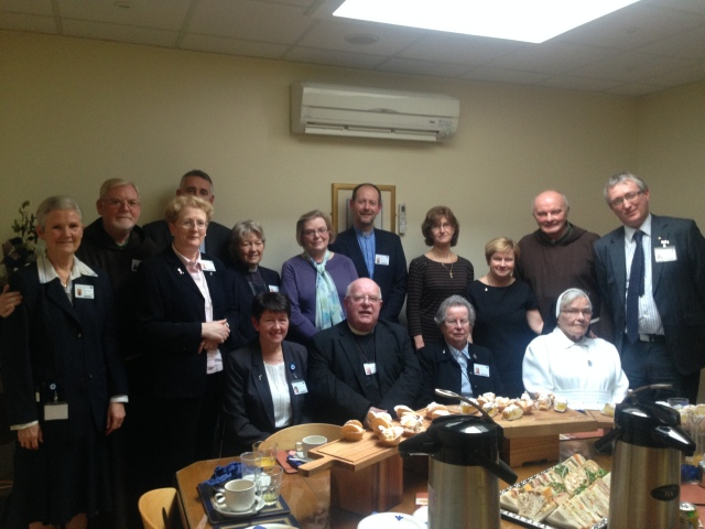 Photo: Members of the Bon Secours Hospital Pastoral Care Team with Mr Harry Canning, Hospital Manager, Ms Ber Mulcahy, Director of Nursing, Mr Andrew McCarthy, Mission Team Leader, join with Archdeacon Robin Bantry White, and his wife Faith.