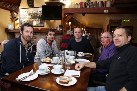 Douglas Union with Frankfield - Men's Breakfast at the Bull McCabes