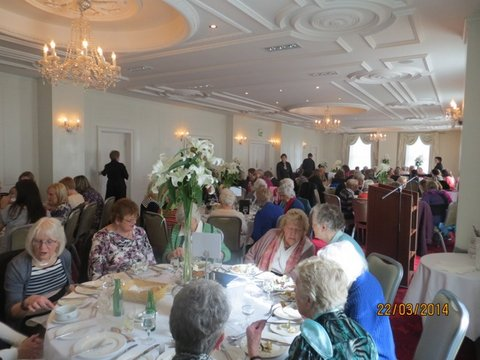 Douglas Union with Frankfield - Ladies' Lunch  at the Rochestown Park Hotel.