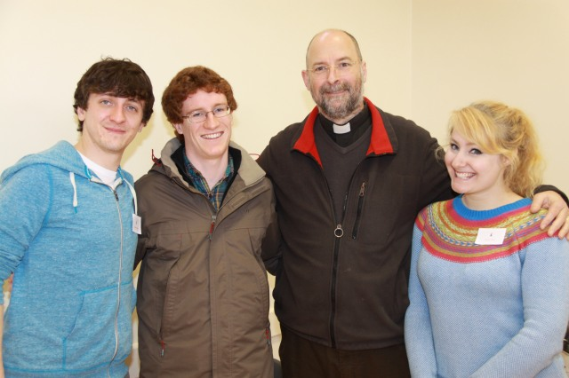 Conor Murray, Matthew Watson, Dean Alan Marley and Kristin Hollowell also helped at the Confirmation Morning.
