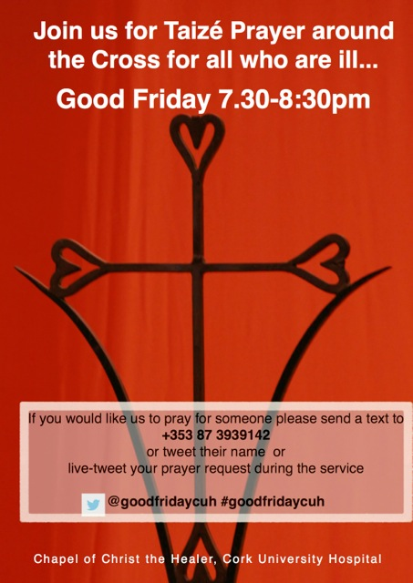 CUH Good Friday Poster 2014 chapel Taize