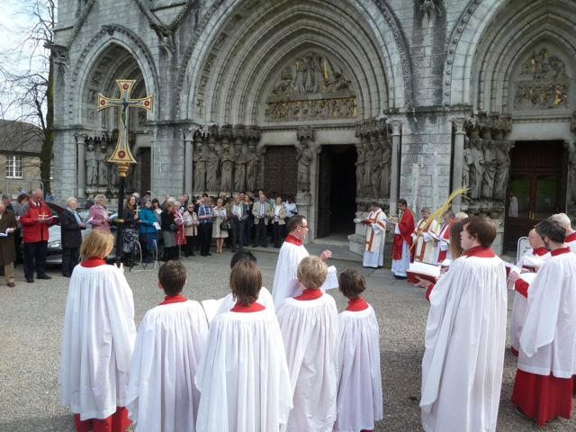 Palm Sunday at St Fin Barre's Cathedral