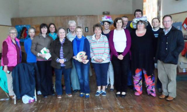 The 'Messy Fiesta Group' at the Training Day