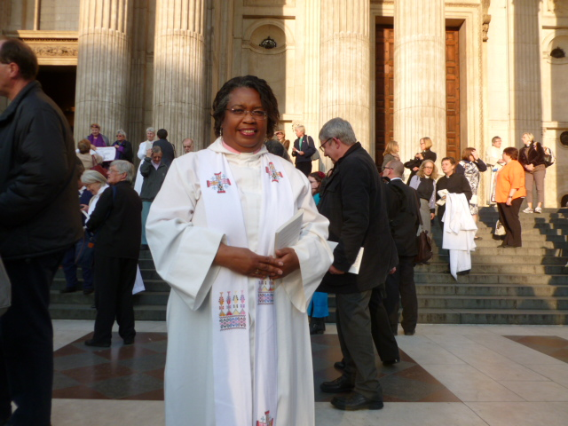 The Reverend Eileen Cremin