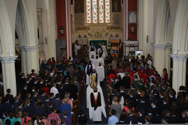 Saint Peter's Church, Bandon was full to capacity for Tuesday's Diocesan Service for Primary Schools, marking the start of the school year in Cork, Cloyne and Ross