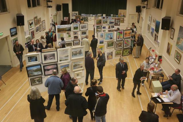 Art and Photography Exhibition in the Canon Packham Hall, Douglas, County Cork