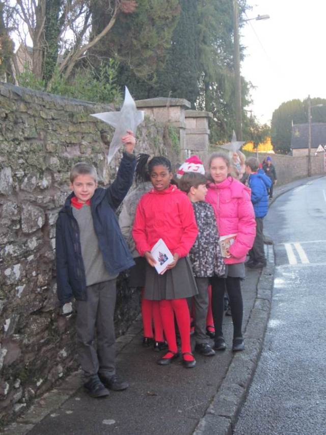 Led by a star back to school in Saint Luke's, Douglas, Cork on the Feast of the Epiphany.