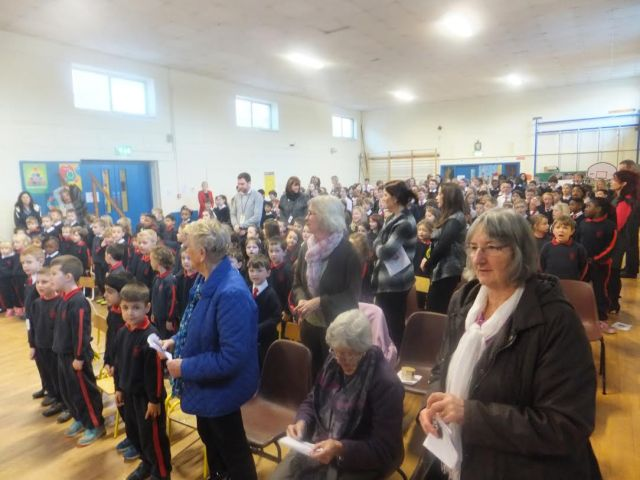 Parishioners and school gather together in Carrigaline to celebrate Epiphany.
