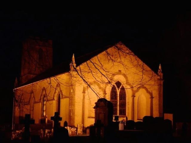 Saint Mary's Church, Doneraile, County Cork on New Year's Eve