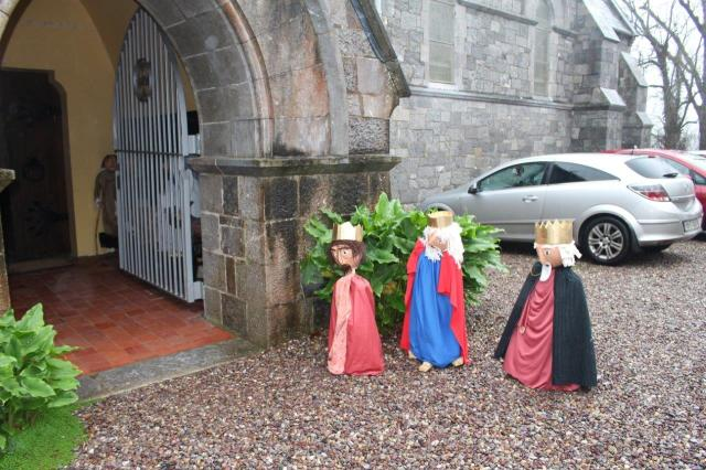 The Magi arriving at Holy Trinity Church, Crosshaven, County Cork