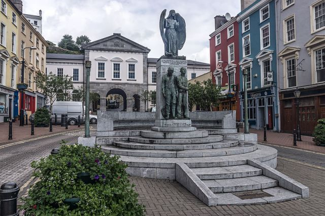 The Lusitania Peace Memorial in Cobh, County Cork