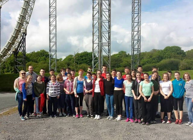 The young people from Cork, Cloyne and Ross who went on an overnight trip recently to Oakwood Theme Park in Wales.