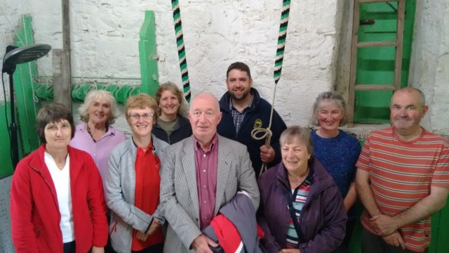 Bell-Ringers at the West Cork Ringing Weekend