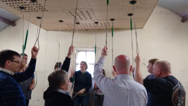 Ringing the Bells at the West Cork Ringing Weekend