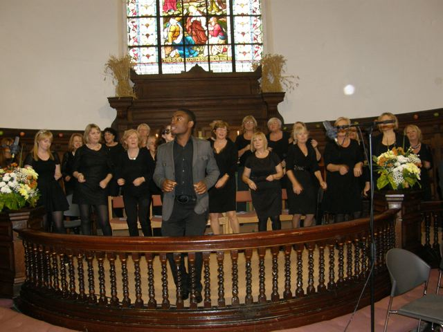 Jazz Festival Service at St Anne's, Shandon, Cork