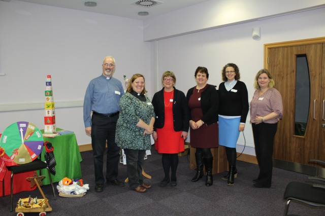 The Children's Ministry Group in Cork, Cloyne and Ross (l-r) Cliff Jeffers, Elaine Murray, Susan Colton, Jacqui WIlkinson, Sarah Marry, and Isobel Jackson.