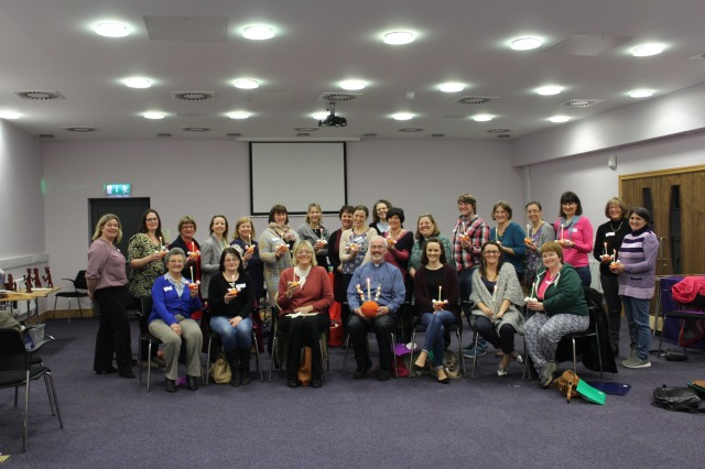 'O come let us adore him! - the group of children's workers who attended the training session organised by the Cork, Cloyne and ross Children's Ministry Group.