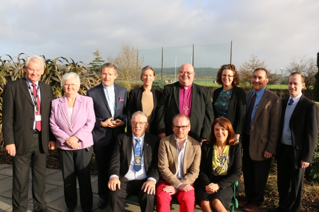 At the presentation of CPE Certificates at St Luke's Home, Cork were:(Standing, l-r) David O'Brien (CEO, St Luke's Home),  Sr Siobhán Horgan, Fr Brian Conlon, Orla McMahon, Dr Paul Colton (Bishop of Cork and Chairman of the Board of Directors of St Luke's), the Reverend Sarah Marry, the Reverend Stephen McCann, and Niall Caroll, and (seated l-r) John Walsh, William Locke, and Ms Mary OWens (Director of Nursing, Cork University Hospital).