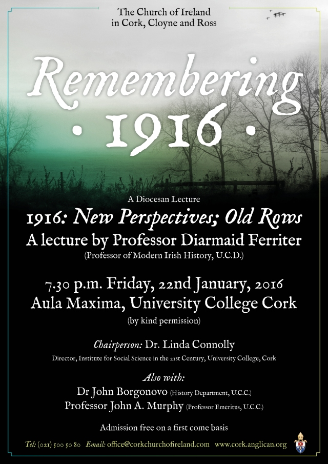1916 Centenary Lecture