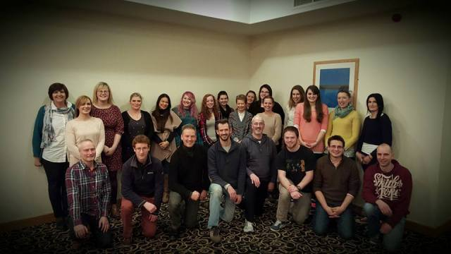 Youth Leaders from Cork, Cloyne and Ross at their annual weekend away.