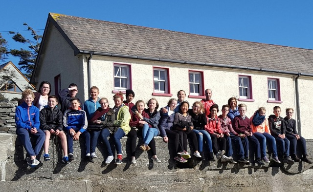 Young people and leaders from Cork, Cloyne and Ross who spent a weekend recently on Cape Clear Island - an annual event.