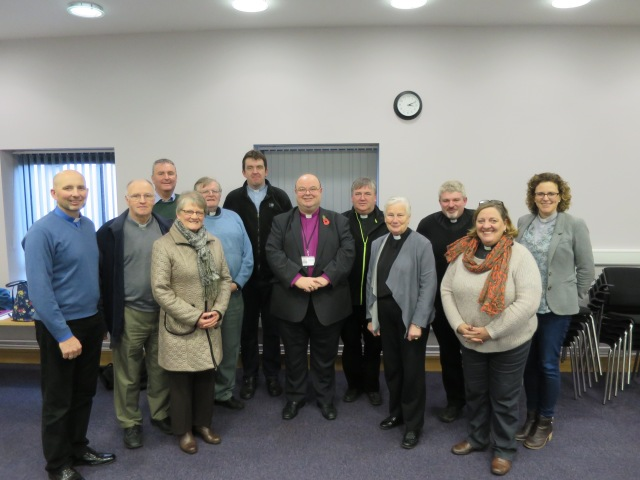 The group - lay and ordained - who attended  an 'Introduction to the Law of the Church of Ireland' recently