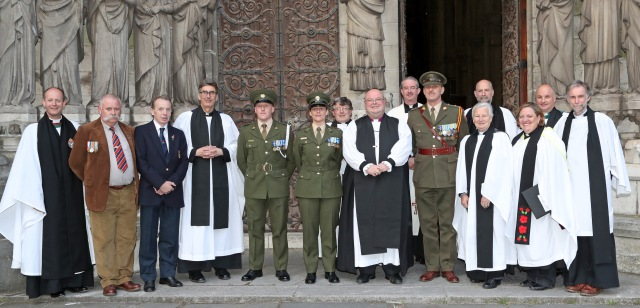 REPRO FREE. 01/07/2016 The Church of Ireland in Cork, Cloyne and Ross, Service of Peace & Reconciliation to commemorate, The Battle of the Somme (part of the Diocesan Remembering 1916 programme), at St. Fin Barre's Cathedral, Cork. Picture: Jim Coughlan.