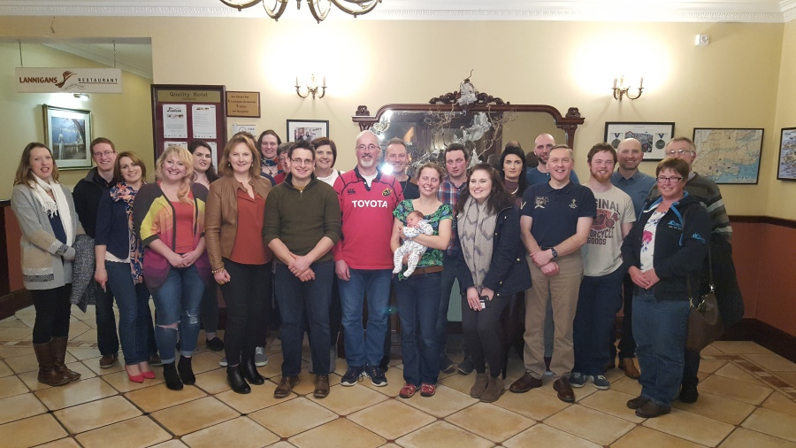 Youth workers who took part in the the recent Cork, Cloyne and Ross weekend for them in Clonakilty.