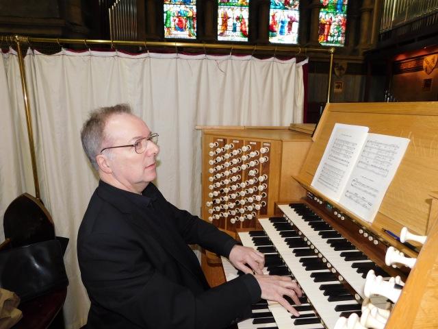 Trevor Selby, organist