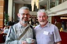 Two Diocesan Readers in training: Michael Kenning and Andrew Coleman