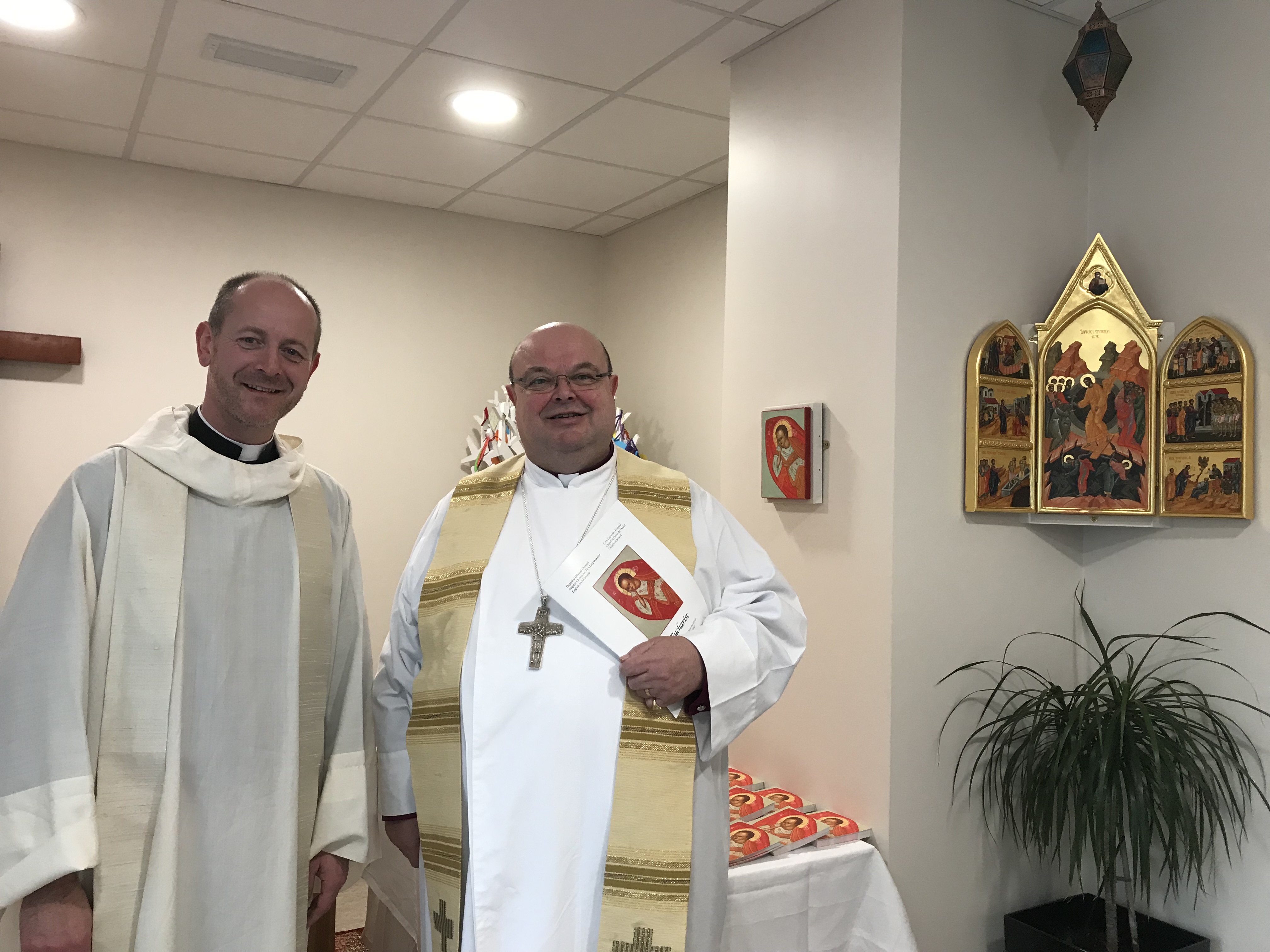 Dedication of relocated Chapel of Christ the Healer at Cork