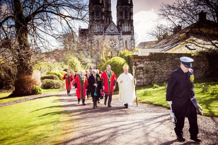 Civic Procession from the Cathedral