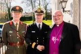 Brigadier General Patrick Flynn and Commodore Mick Malone